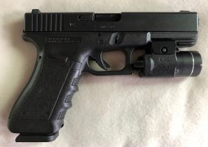 Glock 22 w/TLR3 light